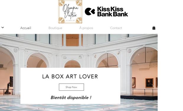 Visuel du projet Lancement de la Box Art Olympia Victrix