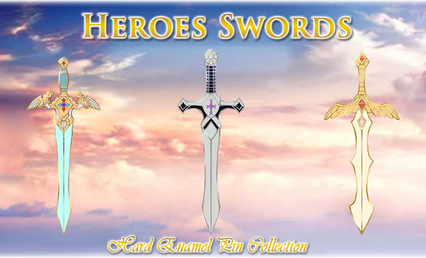 Project visual Heroes Swords