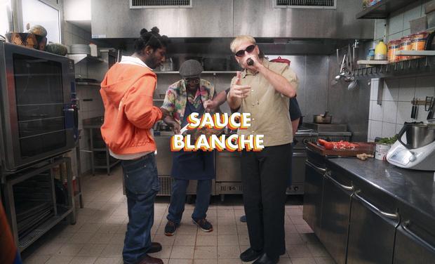 Visuel du projet Sauce Blanche présente les Sauces Sessions