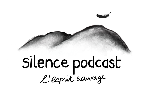 Visueel van project Silence podcast