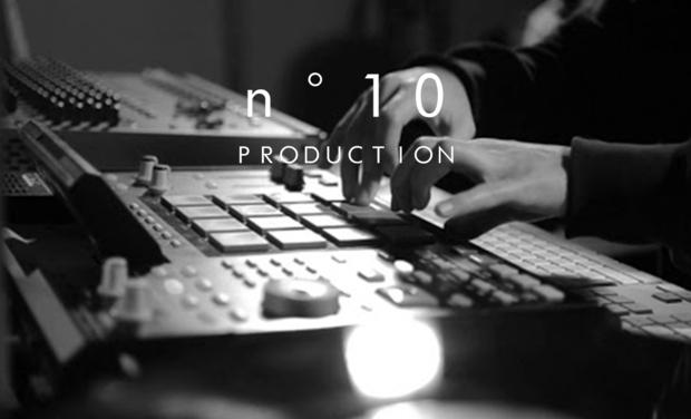 """Visuel du projet Studio music - """"n°10 Production"""""""