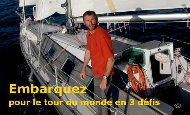 Visuel du projet Embarquez pour le tour du monde en 3 défis