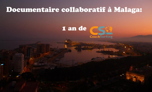 Project visual Documentaire collaboratif: 1an de couchsurfing à Malaga