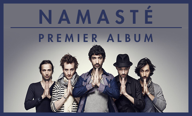 Visuel du projet Le premier album de NAMASTE