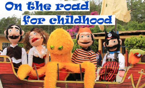 Visuel du projet On the road for childhood
