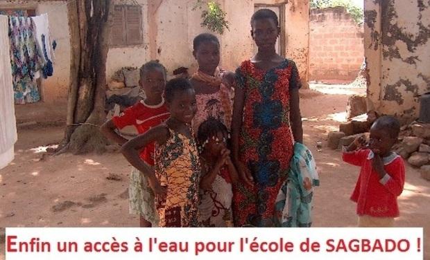 Visuel du projet Enfin un accès à l'eau pour l'école de SAGBADO (Togo) !