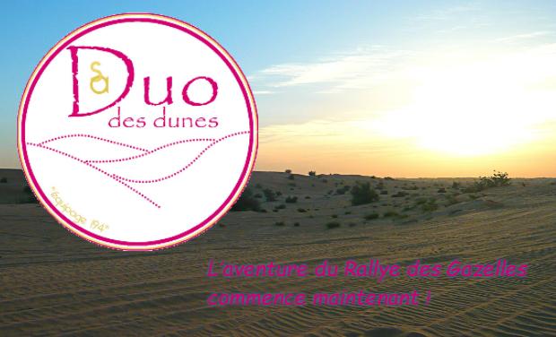 Project visual Duo des dunes au Rallye Aïcha des Gazelles 2014 : Partageons ce projet ensemble !