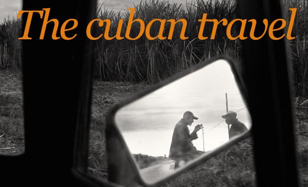 Visuel du projet The cuban travel/ construction de l'exposition