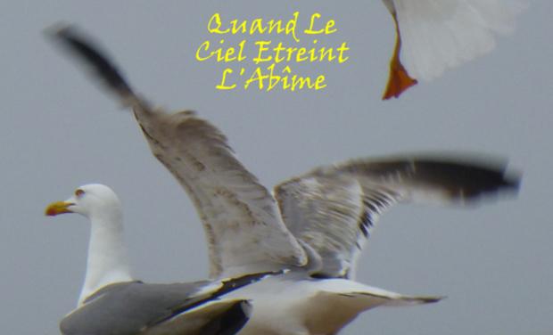 """Visuel du projet Création du CD """"Quand le ciel étreint l'Abîme"""""""