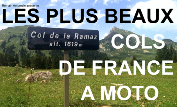 Project visual Les plus beaux cols de France à moto
