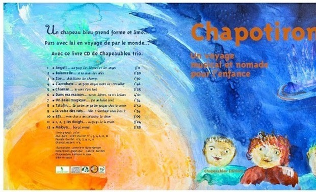 Project visual Chapotiron livre Cd jeunesse éco-conçu