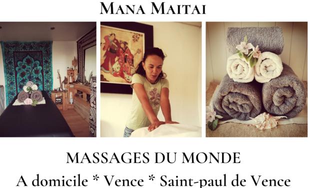 Visuel du projet Les massages du Monde de Mana Maitai