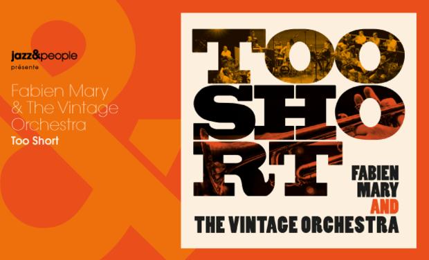 "Visuel du projet Fabien Mary & The Vintage Orchestra ""Too Short"""