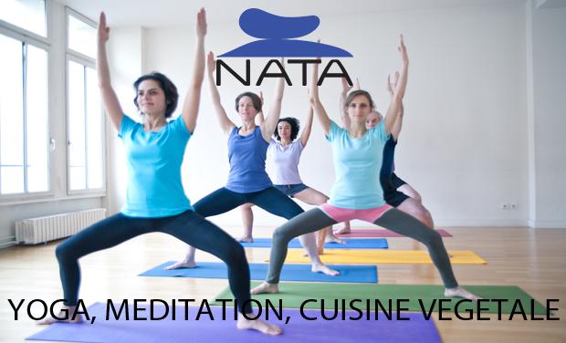 Project visual NATA : yoga, méditation et cuisine végétale