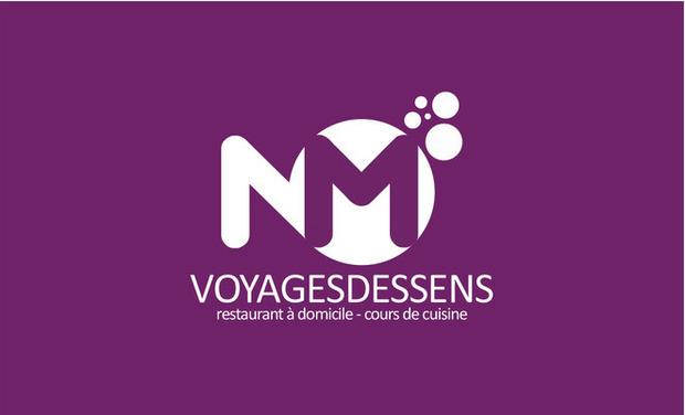 Visuel du projet Voyages des sens restaurant a domicile