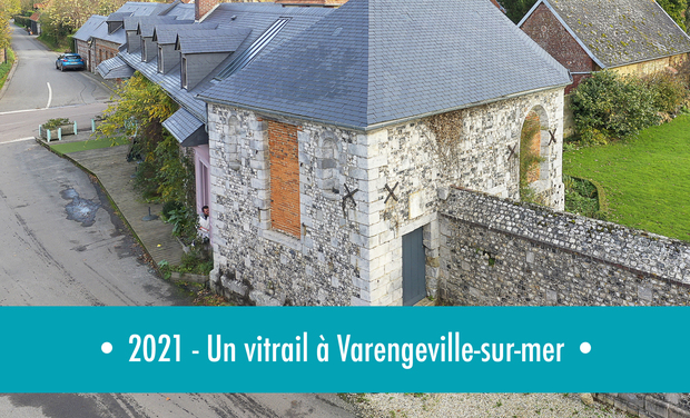Visuel du projet 2021-Un vitrail à Varengeville-sur-mer