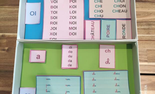 Project visual Prépa CP: l'accès à la lecture pour les plus petits, cap ou pas cap
