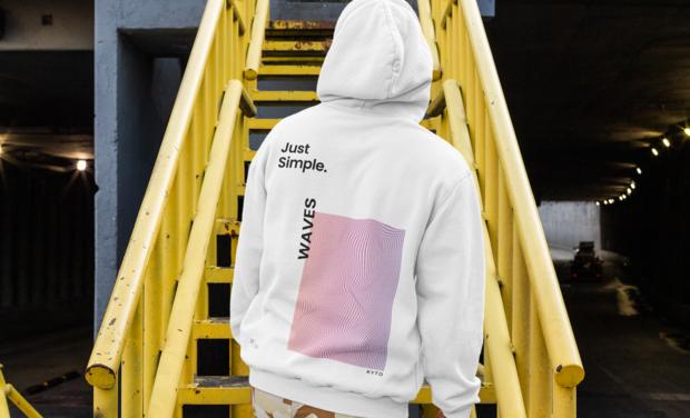 Visuel du projet Un élan pour le lancement d'une marque de vêtements