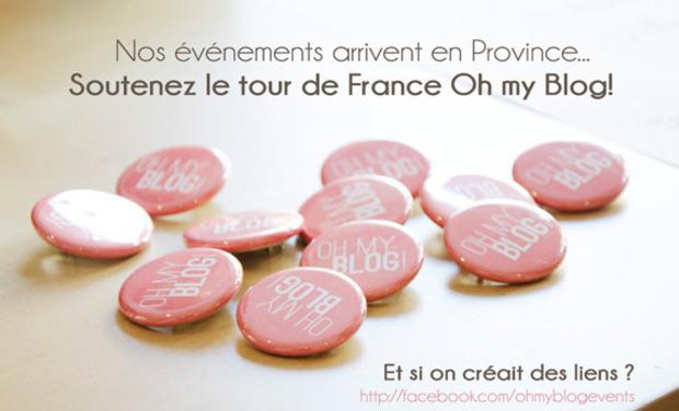 Visuel du projet Le tour de France Oh my Blog!