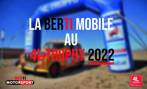 Project visual Berti MotorSport - 4L Trophy 2022