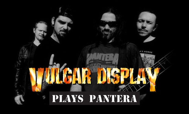 Visuel du projet Vulgar Display (Cover Band Pantera) - Captation Live