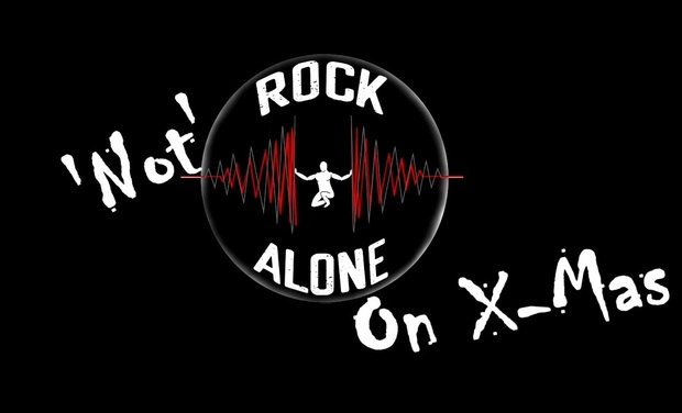 Visuel du projet ROCK 'NOT' ALONE ON X-MAS