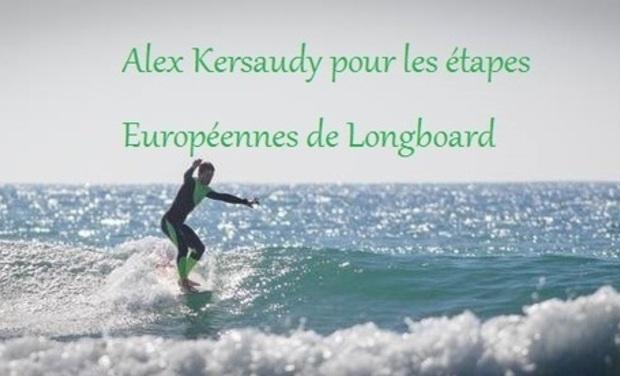 Project visual Alex Kersaudy pour les étapes Européennes de Longboard