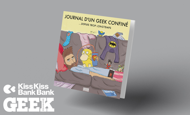 Project visual Le journal d'un GEEK confiné
