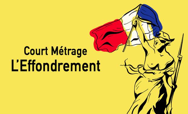 Project visual L'Effondrement Court Métrage