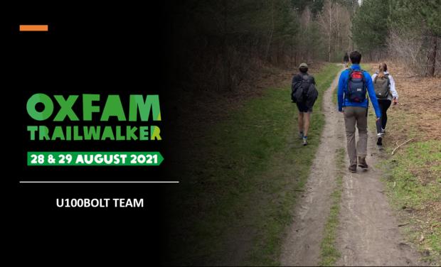 Visueel van project Oxfam Trail Walker - U100BOLT Team