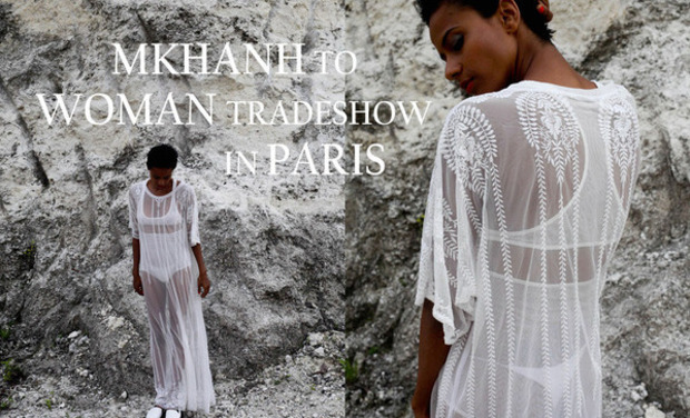 Visuel du projet MKHANH to WOMAN Tradeshow in PARIS - Part2