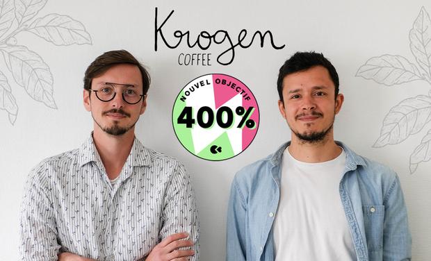 Project visual Krogen, votre torréfacteur local et responsable