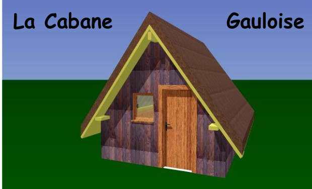 Visuel du projet La cabane gauloise