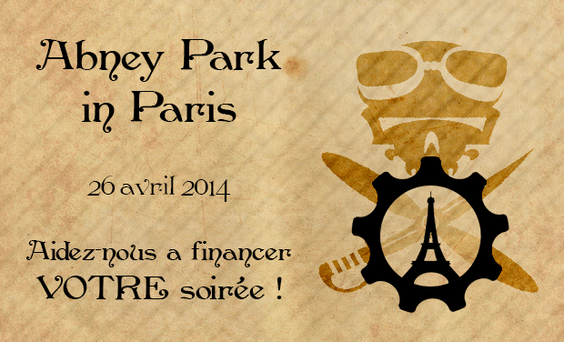 Project visual Abney Park à Paris : Steam Tour 2014 !