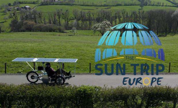 Visuel du projet Ma participation au Sun Trip Europe 2021