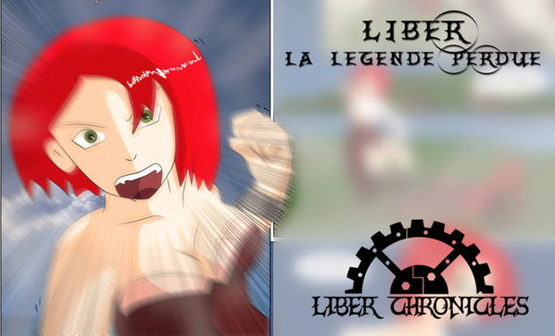 Project visual Liber Chronicles : la légende perdue