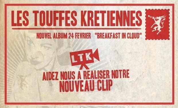 Visuel du projet Un nouveau Clip pour Les Touffes Krétiennes !!!