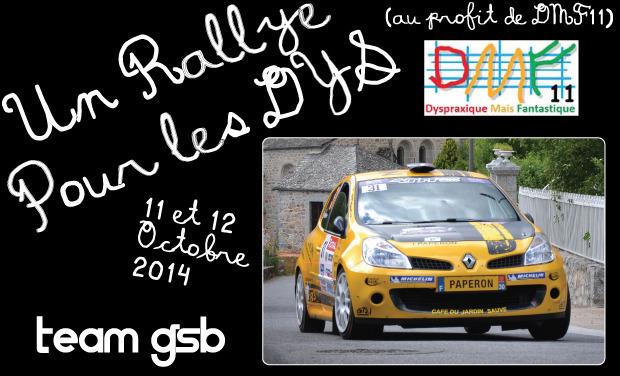 """Visueel van project Un """"Rallye pour les Dys"""" ou les troubles de l'apprentissage"""