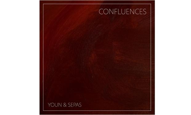 Visueel van project Confluences, first EP of duo Youn & Sepas in summer 2021.