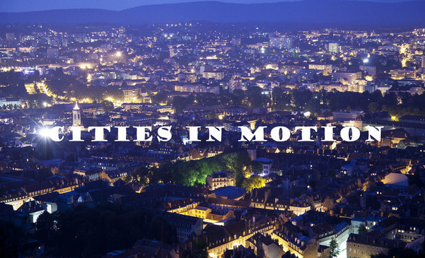 "Visuel du projet ""CITIES IN MOTION"" hyperlapse"