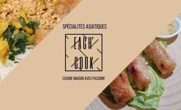 Project visual Each'Cook spécialités asiatiques: un nouveau départ dans l'univers de la cuisine