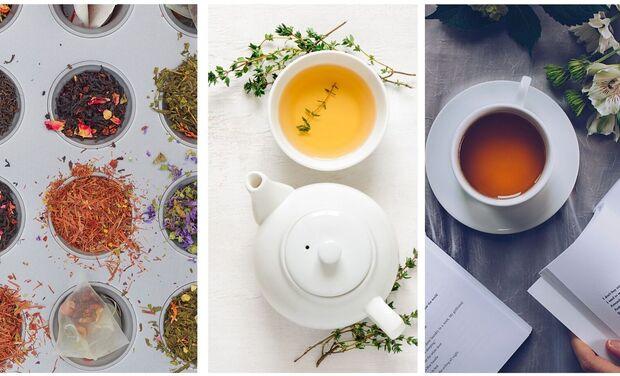Project visual Un site web pour Mon rituel thé