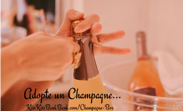 Project visual Champagne Box
