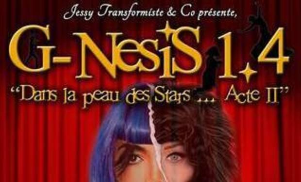 """Visuel du projet G-NesiS 1.4 """"Dans la peau des Stars...Acte II"""""""