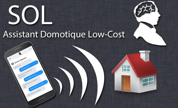 Visuel du projet Domotique par commande vocale Low-cost