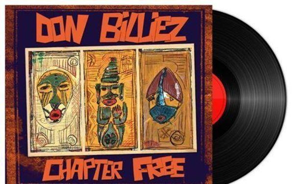 Visueel van project Don Billiez -Chapter free -Vinyl