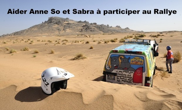 Visuel du projet Aider Anne So et Sabra à participer au Rallye Aicha des Gazelles