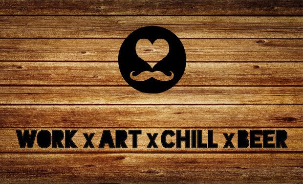 Visuel du projet Concept-Bar: WORK x ART x CHILL x BEER