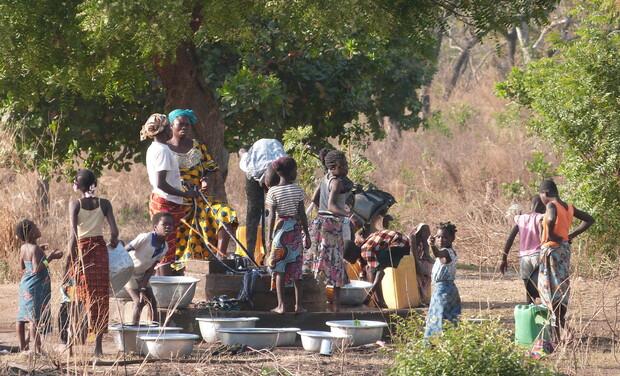 Project visual Construction d'un puits en Côte d'Ivoire