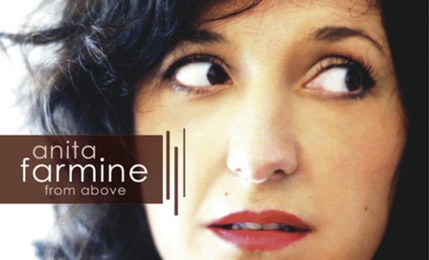 "Visuel du projet Anita Farmine premier album ""From above"""